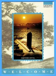 Uss Hartford Ssn-768 Launching Program December 4, 1993 - 8 Pages