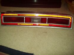 1974 Chevrolet Caprice Stop Tail Light Right Hand Side Bezel Lens And Housing