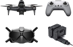 Dji Fpv Combo W/fly More Kit 2 More Batteries 1 Charging Hub - First-person