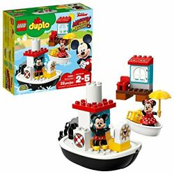 Lego Duplo Mickeyand039s Boat 10881 Building Blocks Discontinued By Manufacturer