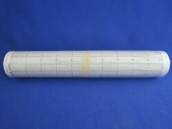 Linseis Strip Chart Paper Roll 200mm X 16m 100 Divisions Lo/8041