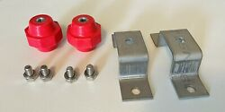 Wall Mount Kit For Grounding Bus Bar Copper Ground Bar Mounting Kit Only