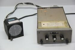 Aircraft Radio Receiver With Mount Harness And Gauge P/n 41240-1001 / 40980-1000