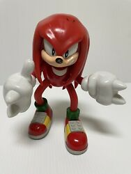 Sonic The Hedgehog Knuckles 8 Action Figure Non Talking Version 2000 Toy Island