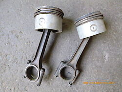 Franklin 50 Hp Piston With Rings Piston Pin Connecting Rod