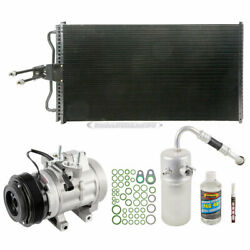 For Ford F150 F-150 V6 2007 2008 A/c Kit W/ Ac Compressor Condenser And Drier Gap