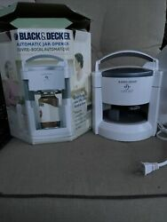 Black And Decker Lids Off Jw200 Electric Lid Remover Automatic Jar Opener