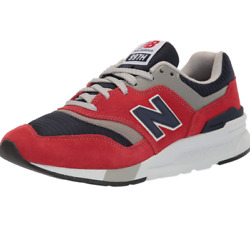 New Balance Menand039s 997h V1 Sneaker Team Red/pigment 4 M Us