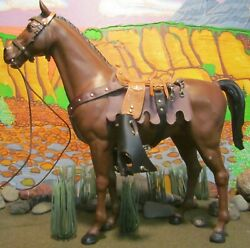 Thunderbolt Wheeled, Customized Saddle, From The Johnny West Collection By Marx