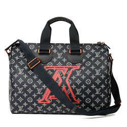 Louis Vuitton Navy Pacific Eclipse Monogram Coated Canvas And Calfskin Leather...