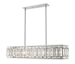 Z-lite - Mersesse - 7 Light Pendant In Metropolitan Style - 12 Inches Wide By 15