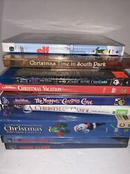 9 Christmas Dvd Lot Home Alone Muppet Vacation South Park Elf Nightmare