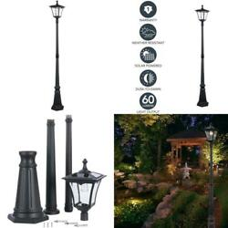 Sterno Home Gl42309 Upgraded Version Outdoor Solar Led Street For Patio Post L