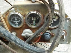 Farmall 450 Ih Tractor Original Dash Panel W/ Gauges And Wire Harness And Switches