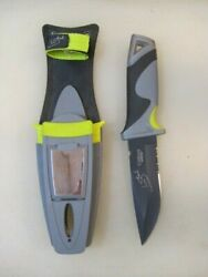 Camillus Survivorman Les Stroud Ultimate Survival Knife And Sheath With Tools
