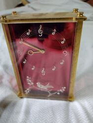 Vintage Jaeger Lecoultre 8 Day Musical Alarm Clock Reuge Music Box B Dont Work