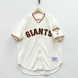 Vtg Barry Bonds 25 San Francisco Giants Russell Authentic Jersey Size 44 Mlb