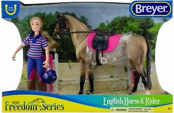 BREYER ENGLISH HORSE AND RIDER FREEDOM SERIES CLASSIC SIZE SADDLE PAD BRIDLE