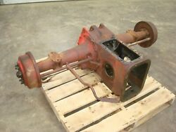 1947 Ford 8n Tractor Rearend Axle Differential Assembly