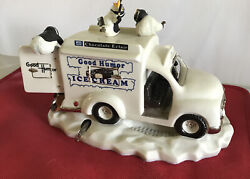 Franklin Mint Good Humor Ice Cream Truck With Penguins Musical And Animated