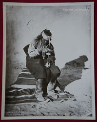 John K. Hillers Photo Governor Of San Felipe Using An Indian Drill 1880s