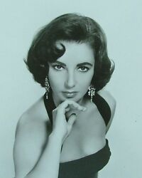 Double-weight High Quality 8x10 Sharp Glossy Photo Of Elizabeth Taylor Actress