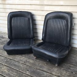 1969 Ford Mustang Bucket Seats