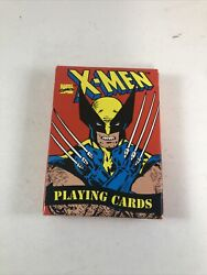Vintage 1993 Marvel Comics X-men Playing Cards Cards In Great Condition
