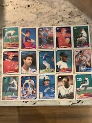 Tools 1989 Bubblegum Baseball Card Pack. Just Opened. 15 Cards. Roger Clemens