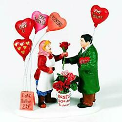 Dept 56 Christmas In City For Your Sweetheart 58987 Nrfb Valentine's Village
