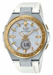 Casio Watch Baby Gee G-ms 25th Anniversary Model Msg-w225-7ajr Womenand039s White