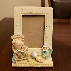 Burnes of Boston Baby Picture Frame withTeddy Bear amp; Jack in The Box