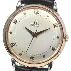 Omega Date Antique Cal.351 Self-winding Menand039s From Japan N0523