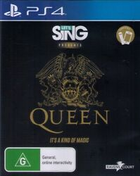 Letand039s Sing Presents Queen - Music Musical Game - Sony Playstation 4 Ps4 Lets