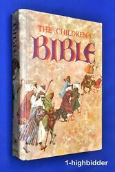 Vtg 1965 Golden Press The Childrens Bible No Writing Fully Illustrated Hardcover