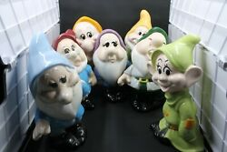 Vintage Snow White And The Seven Dwarfs Figurines