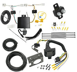 Trailer Wiring And Bracket W/ Light Tester For 20-21 Mazda Cx-30 4-flat Harness