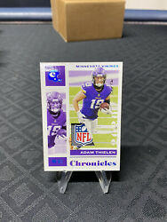 2020 Chronicles Adam Thielen One Of One Nfl Shield.