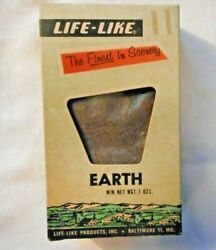 Life-like S109s Earth Scenery For Train Layouts--7 Oz. New In Box