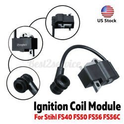 Us 55x25mm Ignition Coil Trimmer Part Accessary For Stihl Fs40 Fs50 Fs