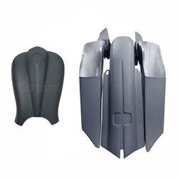 Saddlebag Rear Fender Side Covers Gas Tank Shrouds Fit For Harley Touring 14-21