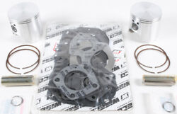 Wiseco Wk Top End Kit - Light Weight Forged Pistons Pins Rings Wk1243 Made N Usa