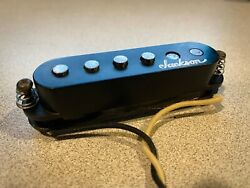 Jackson 1990and039s Single Coil Pickup Black