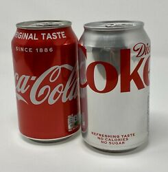 Damien Hirst Signed Coke Can Collection - Regular And Diet - Show Ended May 24