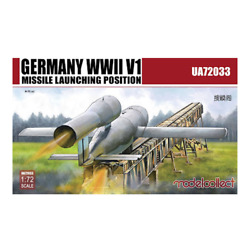 Modelcollect 1/72 Germany Wwii V1 Missile Launching Position