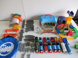 Thomas The Train Set Lot All Work Great Condition Not Complete Read Desc