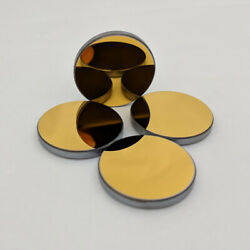 6x Dia 20mm Si Reflection Mirror For Co2 Laser Cutting Engraver Gold Coated