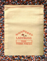 1500 Premium Fresh Live Ladybugs Priority Mail Shipping Very Limited Supply
