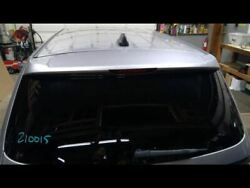 Hatch Tailgate Privacy Tint Glass Silver Fits 14-18 Durango 742828