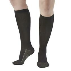 Ames Walker Aw Style 136c Womenand039s Copper Sole 20-30mmhg Knee High Socks Man